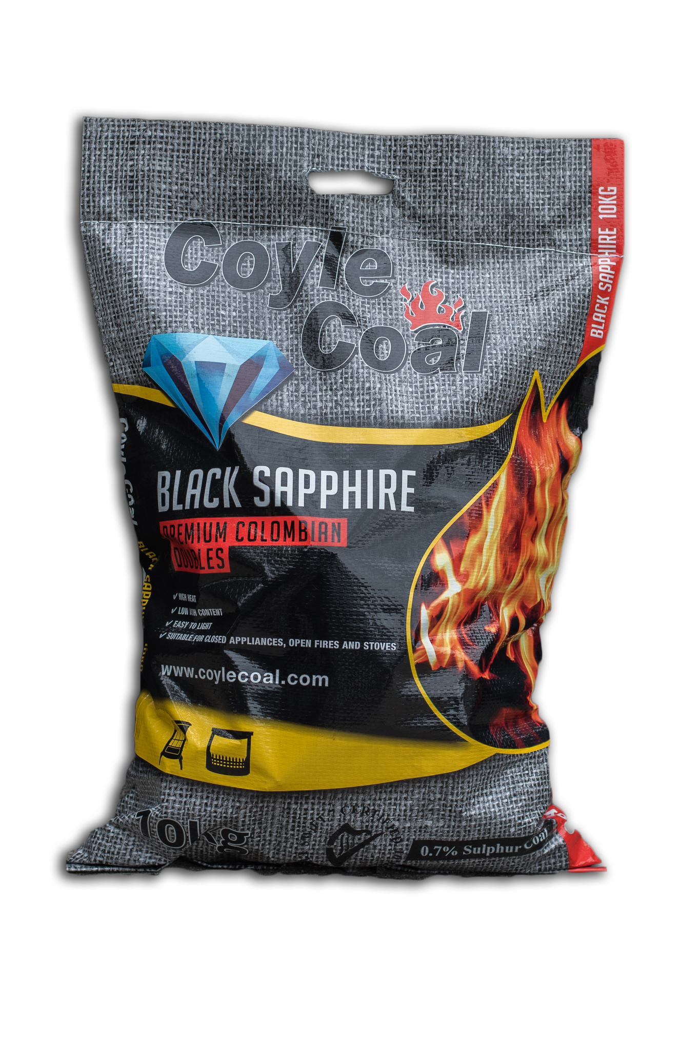 COYLECOAL- (7 of 18) BLACK SAPPHIRE 10KG